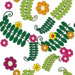 Seamless floral pattern — Stock Vector #22345639