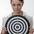 Aim at the  target - Stock Photo