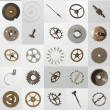 Stock Photo: Watch cogs