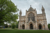 The Cathedral & Abbey Church of Saint Alban — Stock Photo