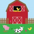 Barnyard — Stock Vector #48168581