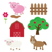 Barnyard — Stock Vector