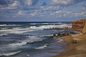 The coast of Mediterranean sea — Stock Photo