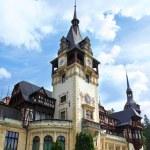 Peles Castle.Romania — Stock Photo