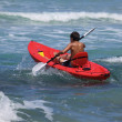 Sea kayak — Stock Photo