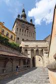 剌的中世纪城市罗马尼亚 — 图库照片