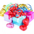 Color gift boxes — Stock Photo #26386477