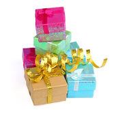 подарочные коробки — Стоковое фото