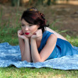 Stock Photo: Pin up girl