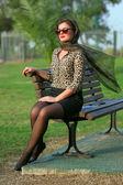 Pin-up žena — Stock fotografie