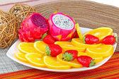 Exotiska frukter — Stockfoto