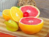Egzotik meyveler — Stok fotoğraf