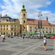 Stock Photo: Sibiu, Romania