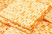 Matzo (or matzah) — Stock Photo