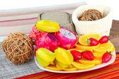Exotic Fruits — Stock Photo