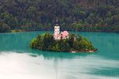 Bled lake — Stock Photo