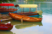 Colorful boats — Stock Photo