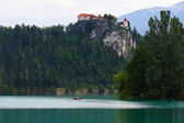 Bled lake,Slovenia — Stock Photo