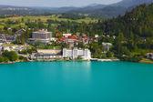 斯洛文尼亚布莱德的湖 — 图库照片