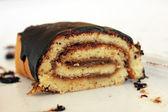 Ciasto czekoladowe rolki — Zdjęcie stockowe