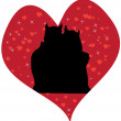 Royalty-Free Stock Imagen vectorial: Devil love