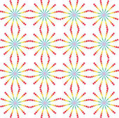 Abstraktní barevné tečkované pozadí — Stock vektor