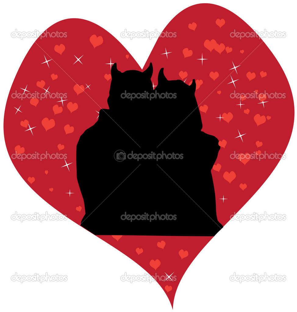 Devil love   Stock Vector #16037869