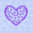 Stock vektor: Heart background