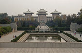 View of the great Peace Park located in Nanjing — Stock Photo