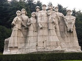 Monument from Park of Peace in Nanjing — Stock Photo