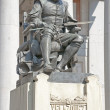 Statue of Velazquez in Madrid - Stock Photo
