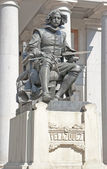 Statue of Velazquez in Madrid — Stock Photo