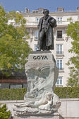 Francisco Jos�� de Goya y Lucientes in Madrit — Stock Photo
