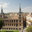 View of the Cathedral of Toledo - Stock Photo