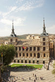 View of the Cathedral of Toledo — Foto de Stock