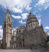 The Cathedral in the city of Toledo — Stock Photo