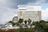 Himeji Castle in renovations — Stock Photo