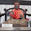 Binzuru Sonja Bodhisattva in Nara -Japan - Stock Photo