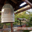Bell, front of Shinto temple - Japan — Stock Photo