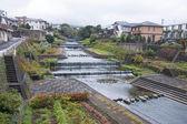 Rivier in beppu - japan — Stockfoto