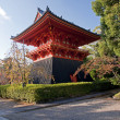 Shinto temple in Kyoto — Stockfoto