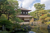 Kyoto silver Temple Gardens — Stock Photo