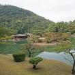 Japanese Garden in Takamatsu - Japan - Stock Photo