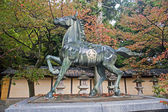 Statue of a horse - Kotohira, Japan — Stock Photo