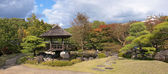 Japanese gazebo in the park in Himeji — Stock Photo