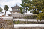 Japanese castle in Shimambara — Stock Photo