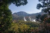 Unzen - geothermale spa — Stockfoto