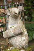 Rat figurine animal sanctuary — Zdjęcie stockowe
