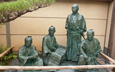 Monument samurai in Kyoto - Japan — Stock Photo