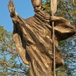 Statue of St. Adalbert, Mikolow, Poland — Stock Photo